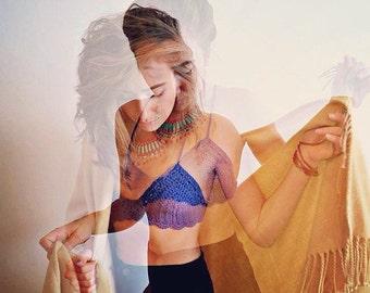 ECHO - Crochet Bralette (Festival/Hooping/Summer Wear)