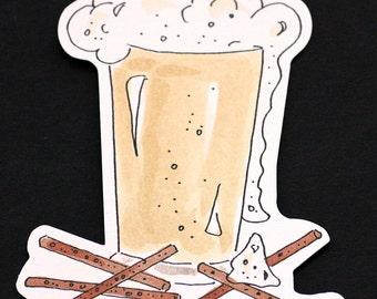 Beer and Pretzel Die Cuts