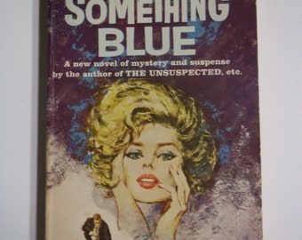 Something Blue by Charlotte Armstrong ACE Books G-514 1959 Vintage Mystery Paperback