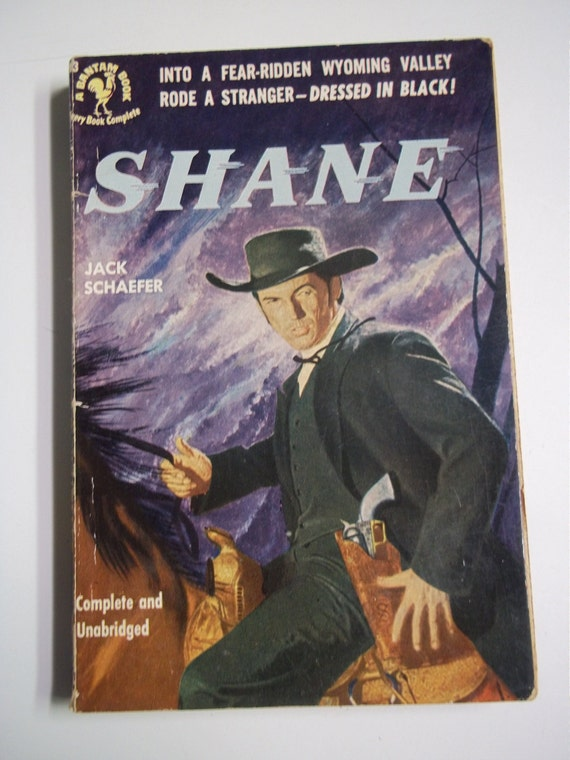 """shane by jack schaefer He rode into our valley in the summer of '89, a slim man, dressed in black """"call me shane,"""" he said he never told us more there was a deadly calm in the."""