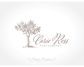 Logo Design (Premade) Tree logo, Photography logo, Business logo, Vintage Logo, Boutique Logo, Business Logo