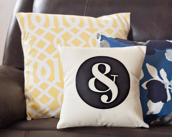 Ampersand Decorative Pillow - & Decorative Pillow