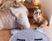 Child carpet of Trapillo model Teo (bear head)