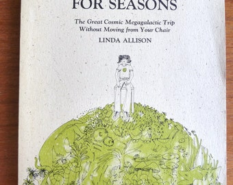 1975 The Reasons For Seasons - Linda Allison - Brown Paper School - Vintage 1970s - Kids Science Book