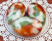 Pumpkin Lager Mens' Handmade Soap - Moisturizing Triple Butter - Detergent, SLS and Sulfate Free - FAAP, HAFAIR, TeamHaHa