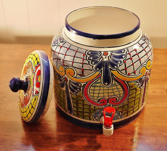 Talavera Ceramic Water Dispenser