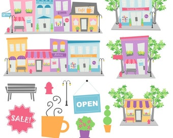 Neighborhood clothing online store