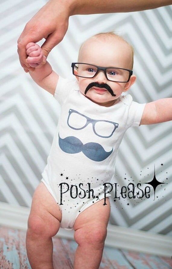Nerdy Baby Gifts Uk : Newborn coming home outfit baby hipster mustache