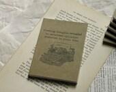 50 % OFF SALE ~ enthüllt | Schreibmaschine ~ Haiku Notebook, Journal, Tasche Reisetagebuch, Skizzenbuch, Tagebuch, Cahier, Kunst, Tinte Stempel, Abbildung
