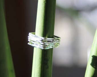 Stackable Square Rings
