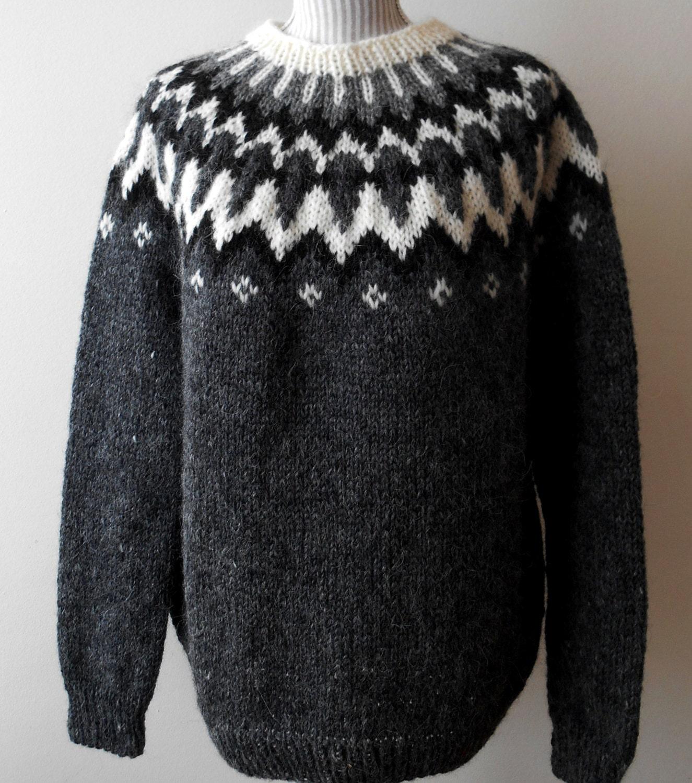 Traditional Icelandic Sweater 26