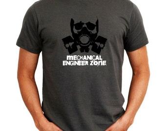 Mechanical Engineer Zone  Gas Mask T-Shirt