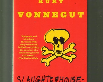 Slaughterhouse-Five by Kurt Vonnegut 1991. Small Paperback In Good Used Condition*.  BARGAIN BOOK !