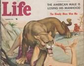 Man's Life; V5, 2, Men's Adventure/Pulp Magazine.  FN.  March 1957.  Crestwood Publishing.