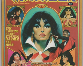 Vampirella; Vol 1, 100 Bronze Age Comic Book.  VF+ (8.5).  October 1981.  Warren Magazine.