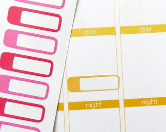 33 Blank Label Stickers for Erin Condren Planner, Filofax, Plum Paper