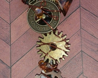 Steampunk Lost in Time Key