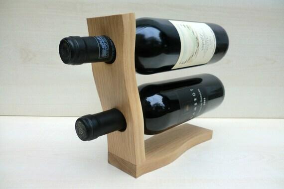 Portabottiglie per vino in legno di rovere completamente - Portabottiglie di vino in legno ...