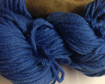 Aslan Trends Pima Clasico Solid cotton worsted weight yarn (214 Ski Diver/blue)