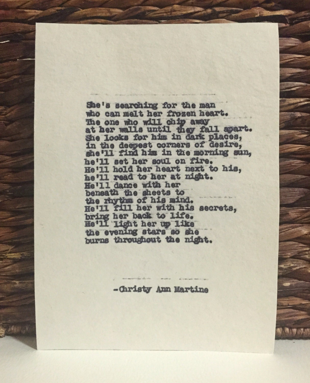 Sexy Love Poem for Him or Her Romantic Poetry by