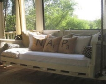 Three Scrabble Tile Pillow Covers 18inch FREE SHIPPING!