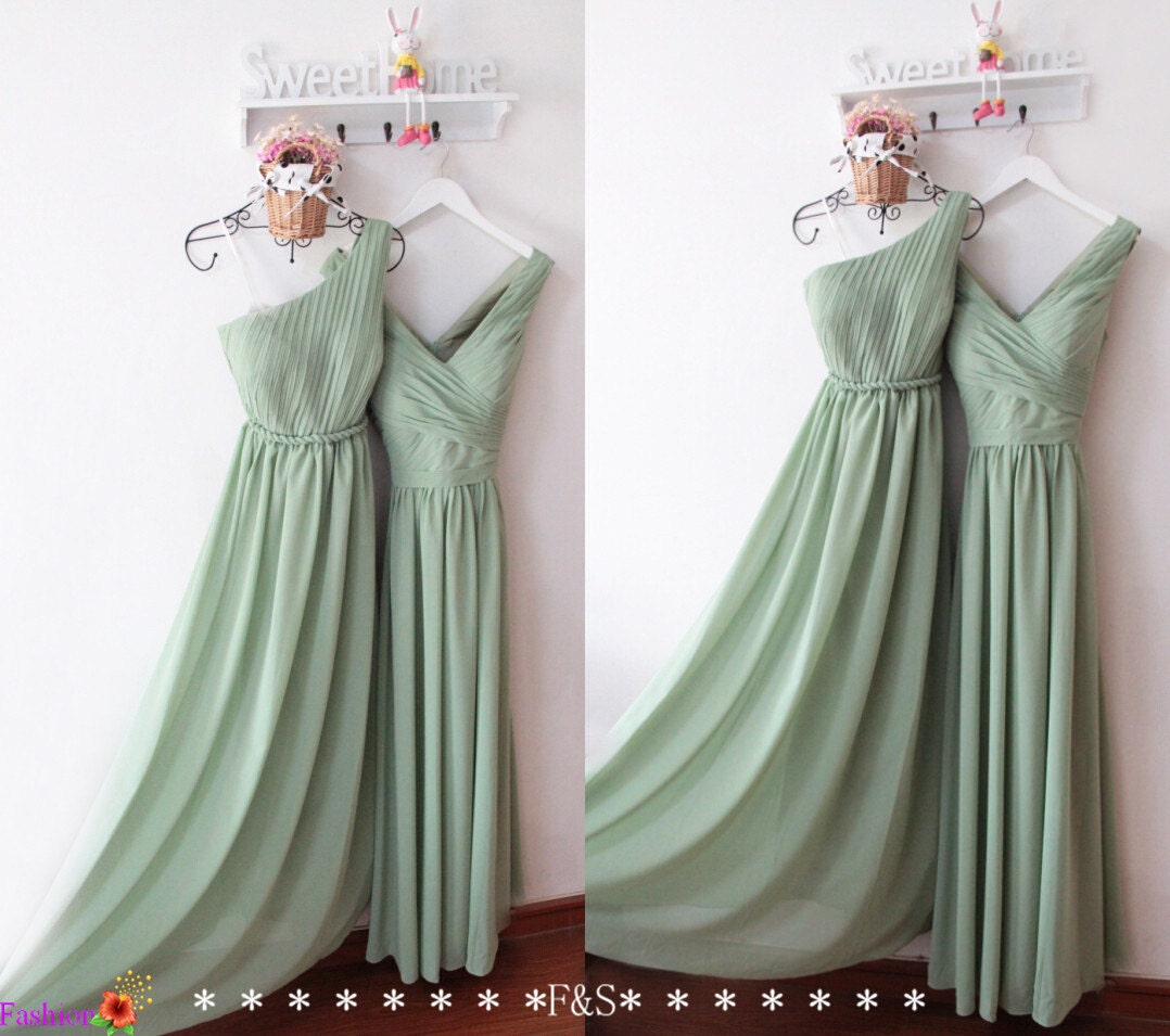 Bridesmaid Dresses: Sage Bridesmaid Dresses 2016Long Sage Bridesmaid DressLong