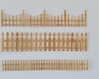 12 Picket Fence Die Cuts