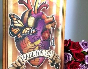 Cirque Du Mort 'Made For You' Greetings Card