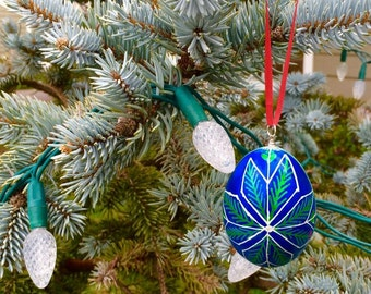 Easter egg- Symbolic Pysanka-  Ukrainian decoration! #2S