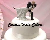Custom Wedding Cake Topper - Personalized...