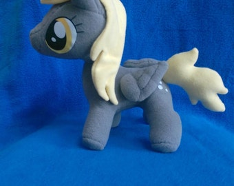 Derpy pony plush