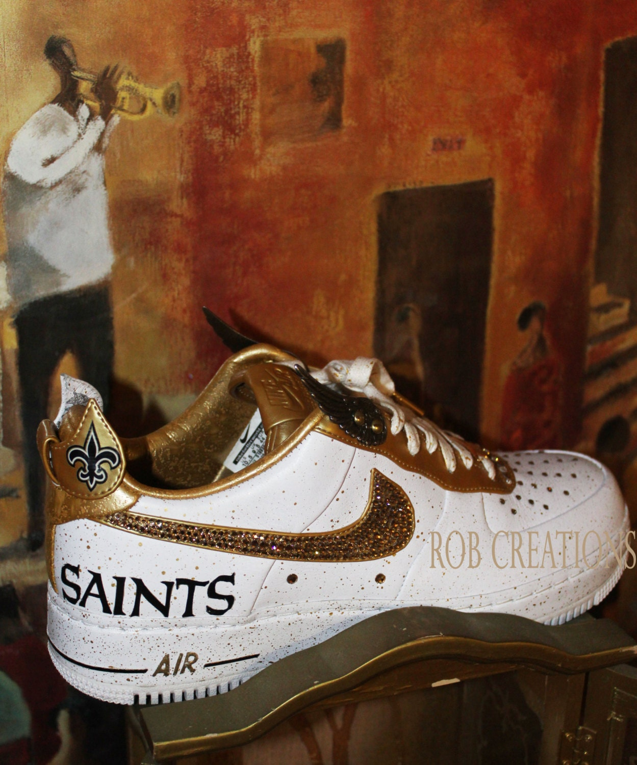 new styles dbe3e b2edf new orleans saints air force ones