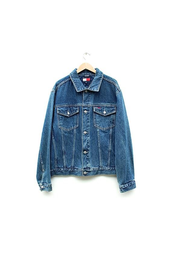 tommy hilfiger jeans jacket. Black Bedroom Furniture Sets. Home Design Ideas