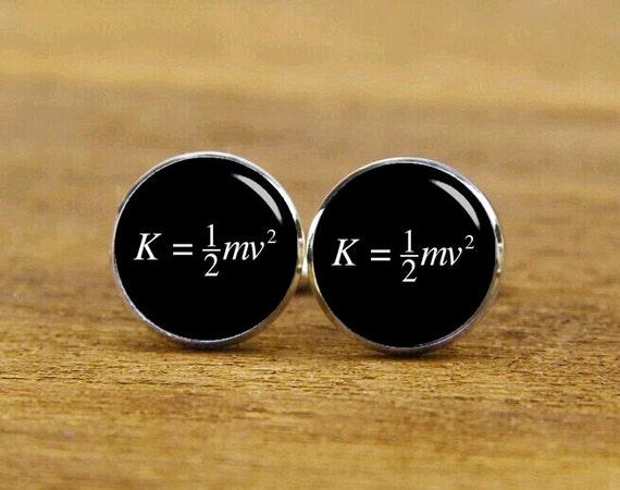 energy cufflink, energy molecular formula, custom molecular formula, custom wedding cufflink, personalized cufflinks, tie clip, matching set