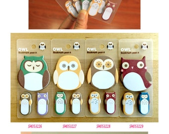 Owl 3in1 Post IT Notes Sticky Memo