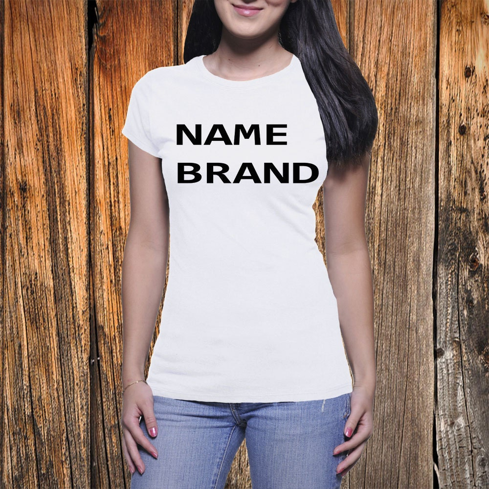 Name brand tee beyonce 39 s name brand t shirt by bluerosetshirts for T shirt brand name list