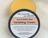 Vanishing Cream -- Organic Stretch Mark & Wrinkle Cream / Pregnancy Cream / Scar Remover / Belly Butter