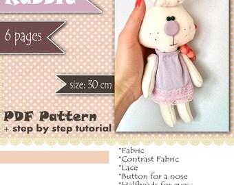Rabbit PDF Pattern