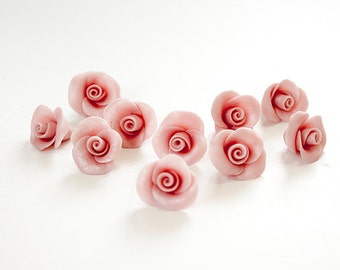 Handmade rose beads and useful things for by nesstudiosupplies for Handmade useful items