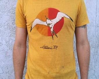 1984 Ultra Thin Hawaii Bird Tee