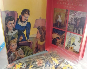 Vintage-style Little Women jigsaw puzzle