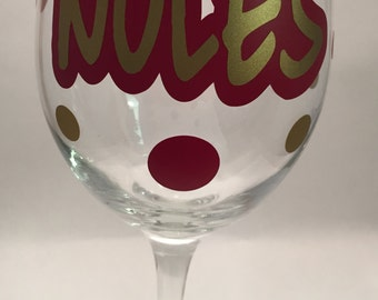 Noles Wine Glass