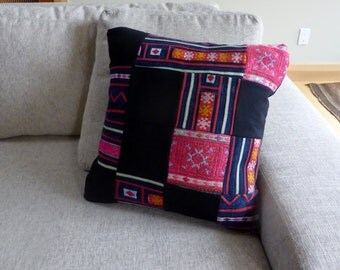 Vintage Hand Embroidered Pillow Cover #10