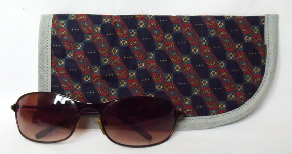 large fabric glasses case, quilted spectacle holder, sunglasses cover, eyeglasses case, quilted glasses protector, glasses holder,