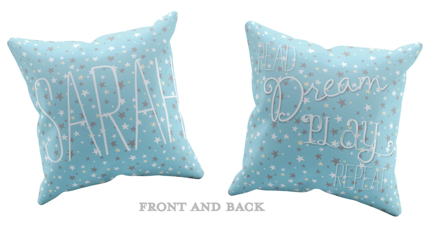 Personalized Decorative Pillows for Kids Kids Room Decor