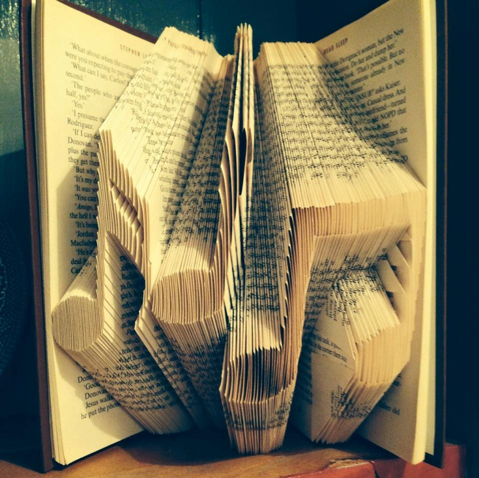 Book Cover Architecture Notes : Book folding pattern for musical notes free tutorial