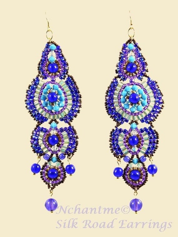 Silk Road Chandelier Earrings Kit