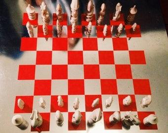 Aluminium chessboard