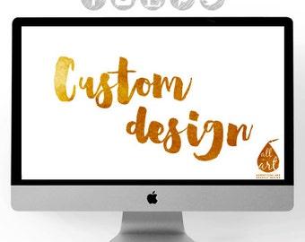 Customize your design :) Freelance PROFESSIONAL GRAPHIC DESIGNER services. Custom logo design, branding, graphic design.
