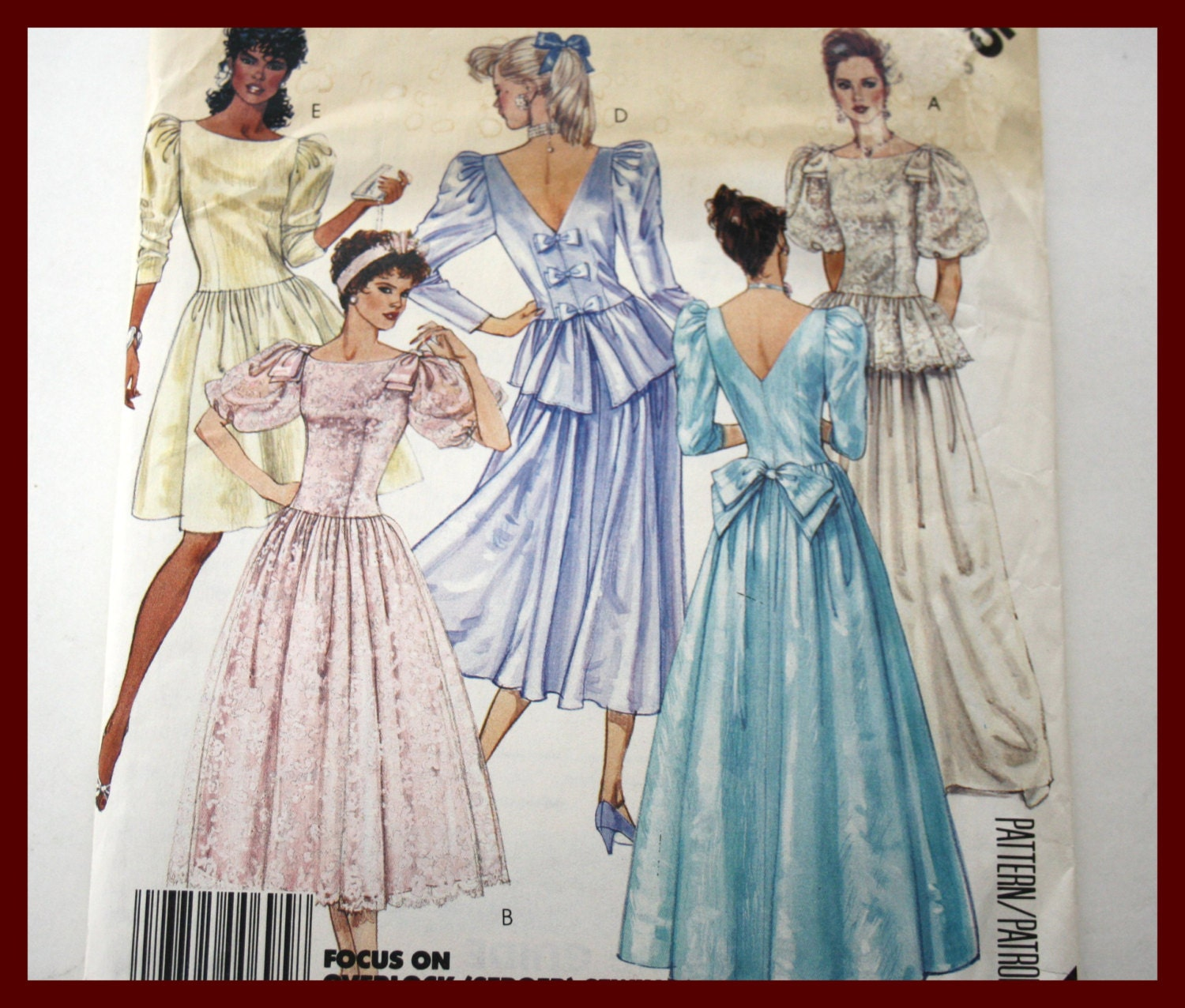 Wedding Dress Patterns BRIDAL Gown sewing patterns, Bridesmaid Dress ...